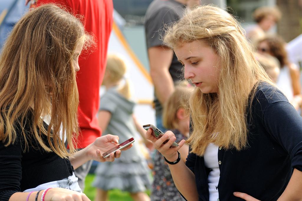 Mobiele communicatie jongeren