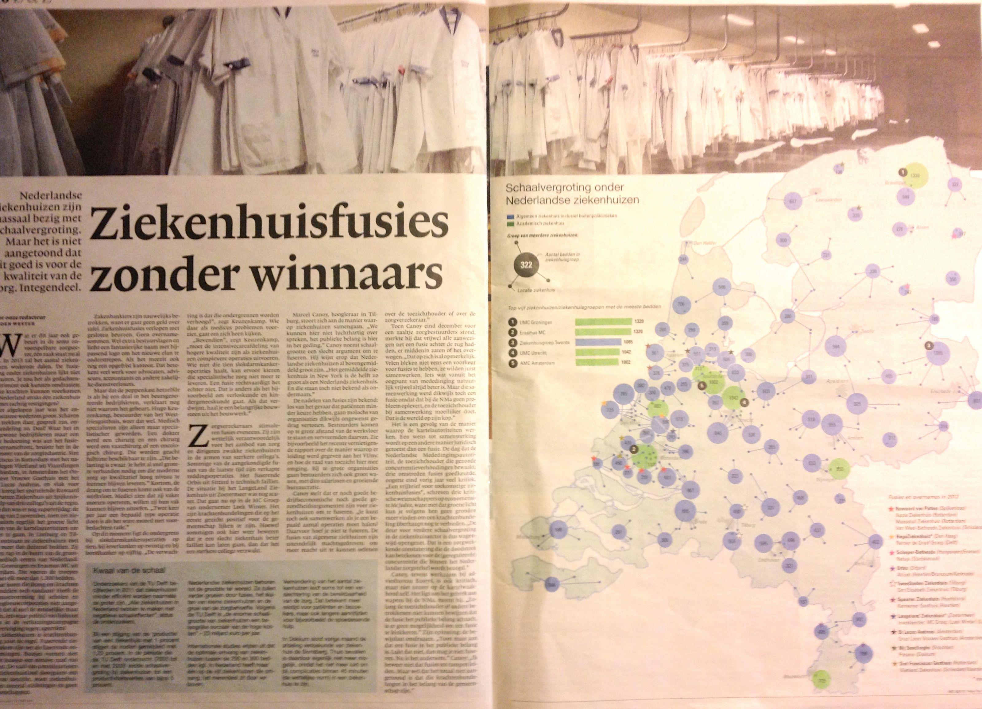 Schaalvergroting onder Nederlandse Ziekenhuizen