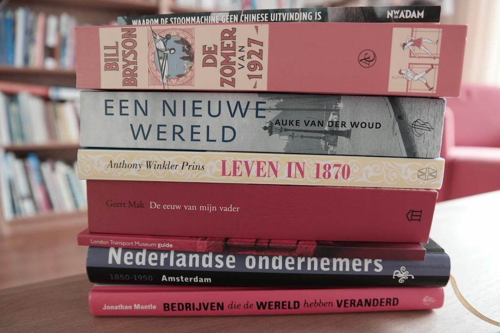 De eeuw van mijn vader - literatuurlijst