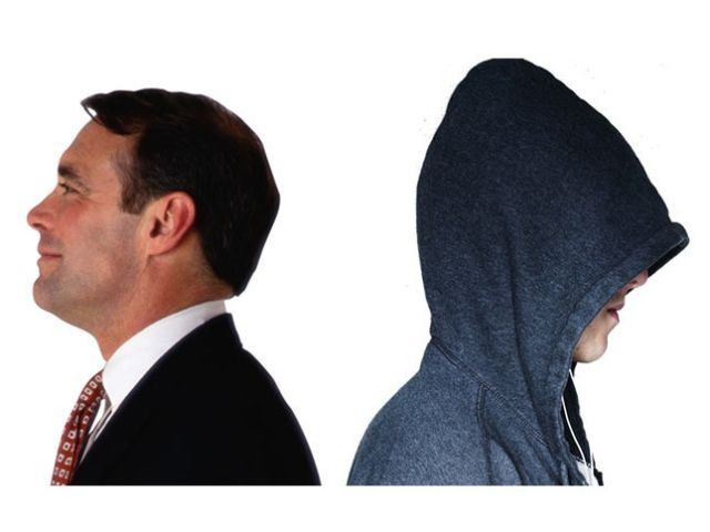 Suits and Hoodies