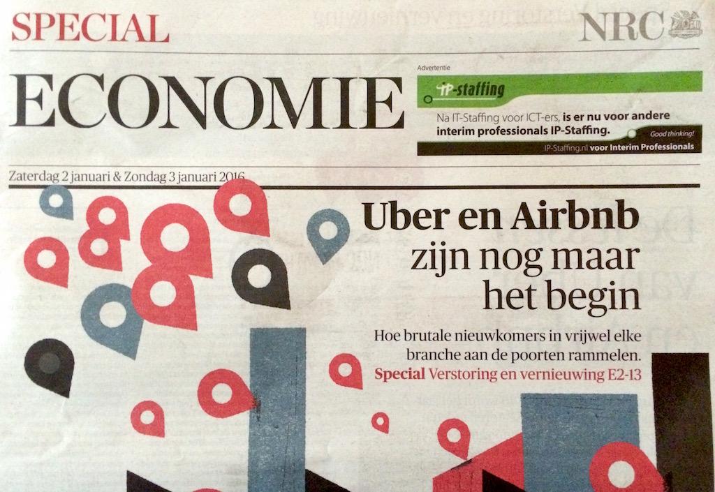 De lessen van Uber en Airbnb